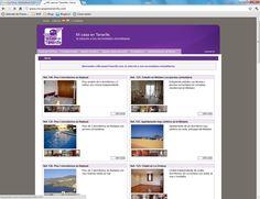 Web para una inmobiliaria en Tenerife