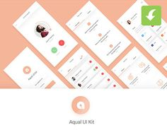 """Check out new work on my @Behance portfolio: """"Aqual Mobile UI Kit for Social Networking Apps Freebie"""" http://be.net/gallery/50858357/Aqual-Mobile-UI-Kit-for-Social-Networking-Apps-Freebie"""