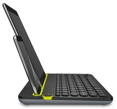 The Bluetooth Multi-Device Keyboard is a unique keyboard for your computer. That also works with your tablet and smartphone. Multi-device Keyboard: Unique computer keyboard that also works with your Bluetooth tablet and smartphone. Bluetooth Keyboard, Computer Keyboard, Bluetooth Gadgets, Laptop Computers, Smartphone, Radios, Xbox Wireless Controller, Ipad, Cool Technology
