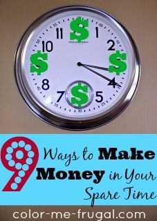 We could all stand to have a few extra bucks in the bank, right? Check out these 9 ways to make money in your spare time!