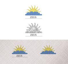 Логотип «Zeus» - Разработка серии логотипов для компании по юридической поддержке «Zeus»