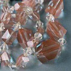 Rare Genuine Czech Saphiret Faceted Beads by prettyinprague