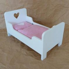 1000 images about puppenbett on pinterest doll beds. Black Bedroom Furniture Sets. Home Design Ideas