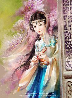 Beautiful Digital Illustrations by Phoenix Lu http://www.cruzine.com/2013/07/22/beautiful-digital-illustrations-phoenix-lu/