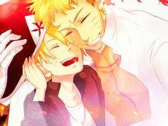 naruto and boruto (father and son)