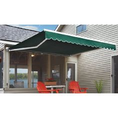 Pin it! :) Follow us :))  zPatioFurniture.com is your Patio Furniture Gallery ;) CLICK IMAGE TWICE for Pricing and Info :) SEE A LARGER SELECTION of patio awning and canopies at  http://zpatiofurniture.com/category/patio-furniture-categories/patio-canopies-awnings/  - patio,awnings,canopies, outdoor -  Guide Gear 12×10 foot Retractable Awning, FOREST « zPatioFurniture.com
