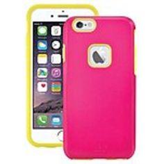 iLuv AI6REGAPN Regatta Dual-Layer Case for iPhone 6 - Pink - Thermoplastic Polyurethane (TPU), Polycarbonate