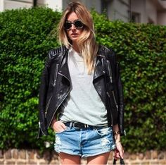 Leather jacket cool
