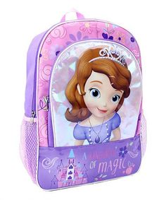Love this Sofia the First 'A Kingdom of Magic' Backpack on #zulily! #zulilyfinds