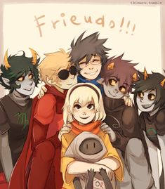 KARKAT IS ACTUALLY SMILING!
