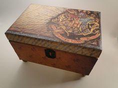 Hogwarts' Box - TheTrendySparrow's shop ($27)...  = trunk idea...