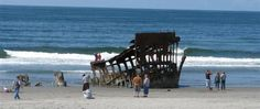 Peter Iredale Beach and Historic Ship Wreck