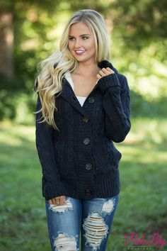 The Pink Lily - Chill No More Jacket Navy, $45.00 (https://pinklily.com/chill-no-more-jacket-navy/)