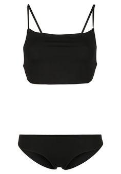 cabanna bikini black melissa odabash #bikinihighneck #melissaodabash