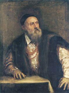 Self Portrait by Titian.