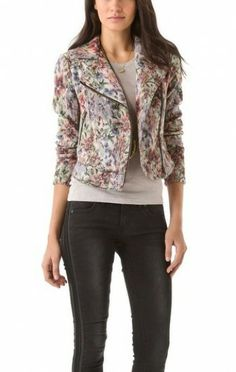 Free People Floral Moto Jacket worn by Tansy on Hart Of Dixie #HartOfDixie http://www.pradux.com/free-people-floral-moto-jacket-23442?q=s24