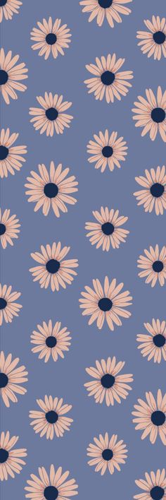 Designs by white_peony for sale on Spoonflower custom fabric and wallpaper Pastell Wallpaper, Daisy Wallpaper, Cute Pastel Wallpaper, Phone Wallpaper Images, Sunflower Wallpaper, Flower Phone Wallpaper, Iphone Wallpaper Tumblr Aesthetic, Cute Patterns Wallpaper, Iphone Background Wallpaper