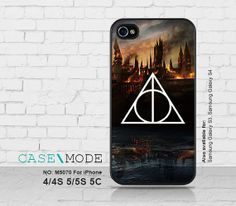 iPhone cases Harry Potter Deathly Hallows iPhone5 Case by CaseMode, $8.99
