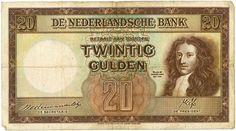 Nederland - 20 gulden 1945 Stadhouder Willem III - mevius 59-1