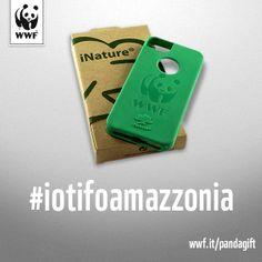 Scegli la cover WWF per il tuo smartphone http://pandagift.wwf.it/slidelist/cover-samsung-iphone.html e anche tu potrai dire anche #iotifoAmazzonia