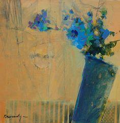 """""""Blue on Butterscotch"""" - Robert Burridge"""