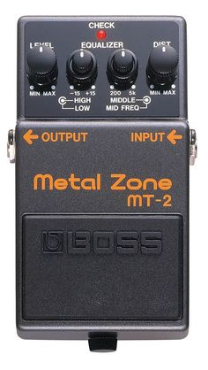 Boss MT-2 Metal Zone Shaff images