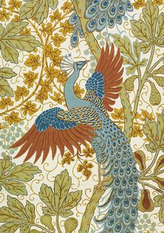Train decor can be beautiful. Walter Crane designs, V Museum, Train Chartering Company.