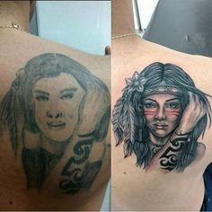 Cover Up Tattoos, Tatoos, Portrait, Tattoo Art, Tatuajes, Tattoos Cover Up, Men Portrait, Tattoo Patterns, Portraits