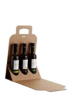 Recyclable Cardboard Bottle Carriers - These Cardboard Container Designs Are Extremely Eco-Friendly (GALLERY)