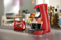 Amazon.de: Senseo HD7829/80 Viva Café Kaffeepadmaschine (Kaffee Boost Technologie) rot