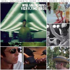 On released his debut album 'Noel Gallagher's High Flying Birds'. I Love Him, My Love, Flying Birds, Noel Gallagher, Debut Album, Playing Guitar, Rock Bands, Oasis