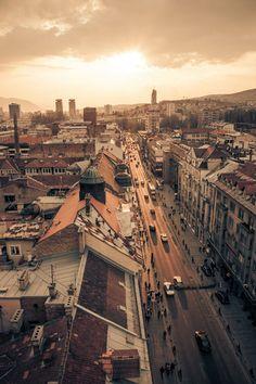 Tito's Golden Path, Sarajevo, Bosnia and Herzegovina