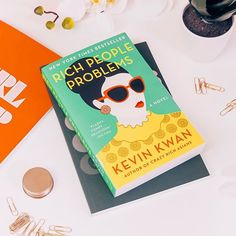 Anyone else super excited to see the #CrazyRichAsians movie?  Ive just started the last book in the trilogy (Rich People Problems) and dont want it to end!  QOTD - Whats your favourite contemporary book series? Let me know in the comments  . . . . . . #movies #kevinkwan #bookblogger #bookreviewer #dreamy #bookblog #bookstagram #instabook #bookish #ireadya #bookworm #readersofig #flatlay #fiction #asthetics #ukya #qotd #acolorfullife #postitfortheasthetic #bookoftheday #yalove #pinterest…