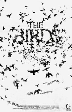 the birds  #typography