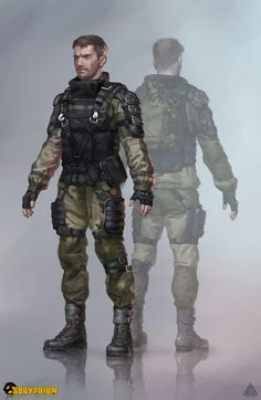 ArtStation - Soldier, Anton Kuhtickiy
