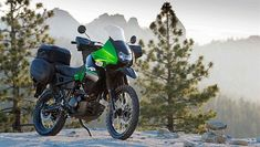 The KLR is widely used as an inexpensive adventure/touring bike. The addition of luggage and personalized modifications (GPS, heated handgrips, larger Atv Motocross, Honda Africa Twin, Klr 650, Round The World Trip, One Day Trip, Dual Sport, Touring Bike, Cafe Racer, Bike Parts