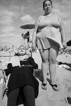 Bruce Gilden. CONEY ISLAND SERIES