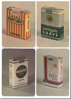 maços de tabaco