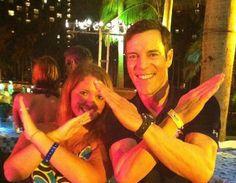 Tony Horton & I in the Bahamas for the FREE trip for Beachbody Coaches!