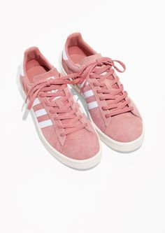 f9d3d1b10c8e Other Stories image 2 of adidas Campus in Pink Pink Sneakers