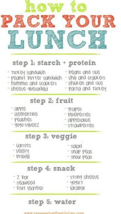 Great healthy and clean lunch ideas