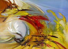 Художник - Михаил Федотов, картина «Umbrino»: Абстракционизм, Фэнтези