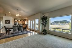 Great views, main level home in Anacortes WA. Skyline rambler, 2 master suites, ready to move in! Beautiful kitchen open to family room and living room, granite counter tops and breakfast bar. Over-sized garage with built in cabinets. This home is positioned to take advantage of the Marina views in Skyline!
