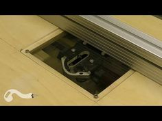 Simple Tilting Router Table Insert / Table Saw Extension - YouTube