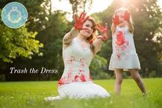trash the dress paint - Google Search