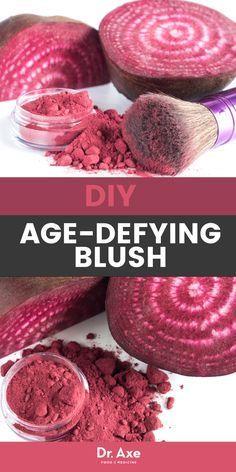 DIY Age-Defying Blush … with Beets! - - DIY Age-Defying Blush … with Beets! Organic Beauty, Organic Skin Care, Natural Skin Care, Natural Beauty, Organic Makeup, Diy Beauty, Beauty Skin, Beauty Care, Beauty Tips