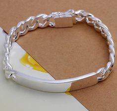 Men Silver Bracelet NOBLE CHAIN  #DONABIE