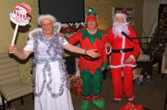 There was fancy dress and special guests at Salmon Court's Christmas Party!
