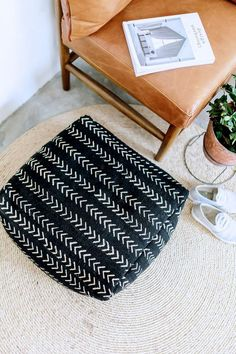 DIY Floor Cushion | a pair & a spare | Bloglovin'