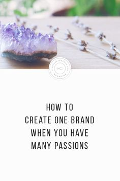 How to Create One Brand When You Have Many Passion… – - business marketing design Etsy Business, Craft Business, Business Advice, Business Branding, Creative Business, Online Business, Tshirt Business, Business Journal, Corporate Branding
